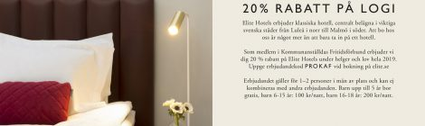 Nya rabatter på ELITE Hotel